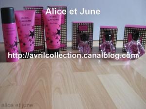 L'ensemble de la gamme proposée en parfumerie, visualisable dans la section