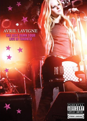 Avril_Lavigne_The_Best_Damn_Tour_–_Live_in_Toronto_DVD_cover