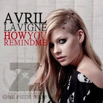 avril-lavigne-how-you-remind-me-nickelback-one-piece-film-z